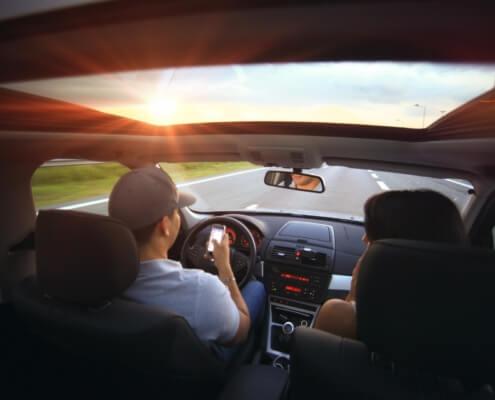 Distracted Driver Awareness Month Spokane, WA
